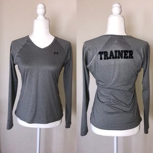 Under Armour long sleeve trainer top